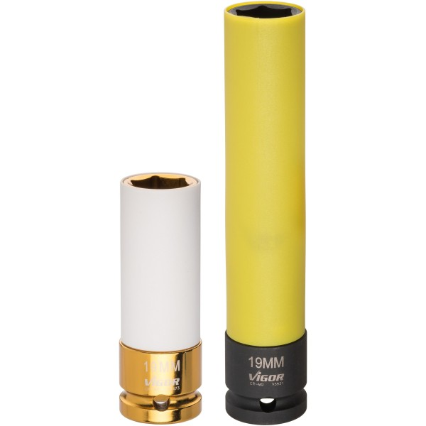 Schlagschrauber Steckschlüssel-Einsatz SW19 ∙ 150mm