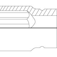 Schlagschrauber Steckschlüssel-Einsatz (Doppel-6kt.) ∙ kurz
