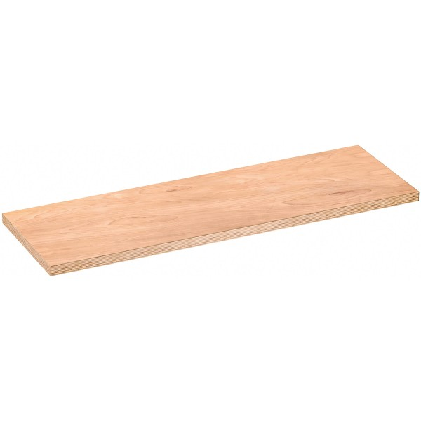 Holz-Arbeitsplatte kombiniert ∙ mittel