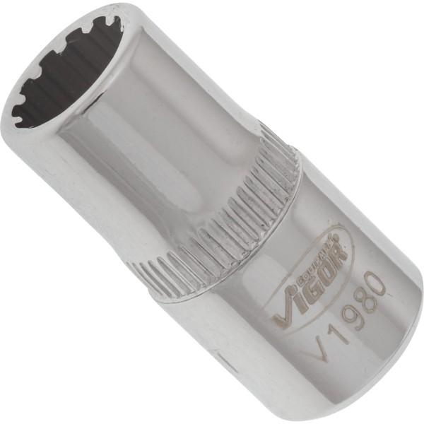Multiprofil-Steckschlüssel Einsatz