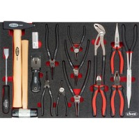 Pliers and hammer set