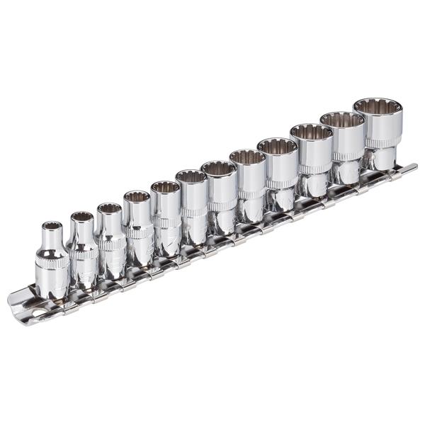 Abbildung: Beispiel Steckschlüssel-Systeme 6,3 mm (1/4 Zoll)