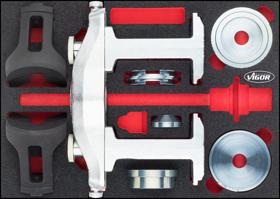 Abbildung: Beispiel Werkzeugsätze Kompaktradlager