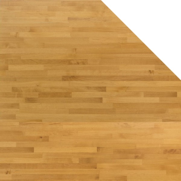 Holz-Arbeitsplatte ∙ Fünfeck