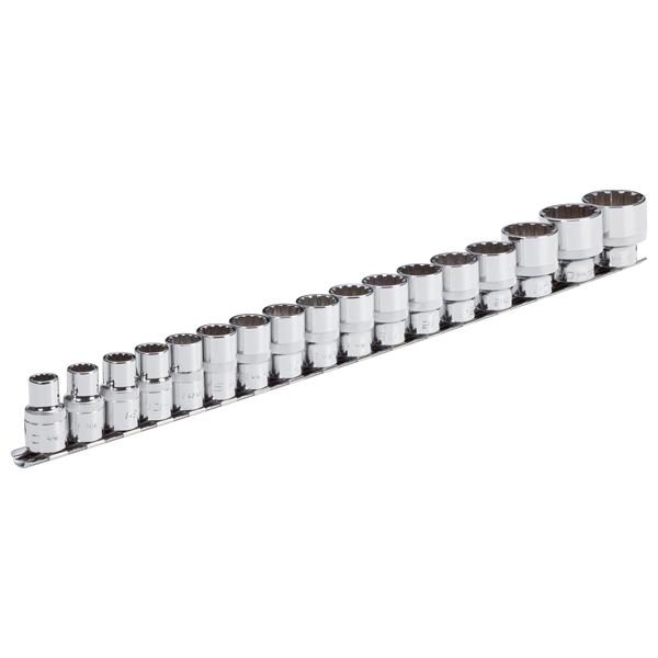 Abbildung: Beispiel Steckschlüssel-Systeme 12,5 mm (1/2 Zoll)