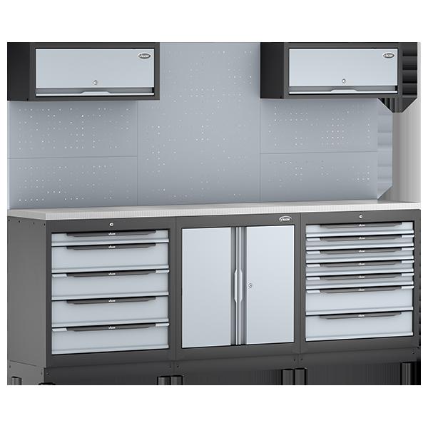 Abbildung: Beispiel Schrankwand-System