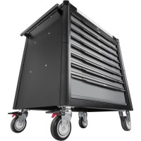 Werkstattwagen SeriesXD ∙ extratief ∙ Edelstahl-Arbeitsplatte ∙ mit Sortiment