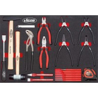 Pliers ∙ hammer and chisel set