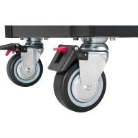 Werkstattwagen SeriesXL ∙ Edelstahl-Arbeitsplatte ∙ mit Sortiment