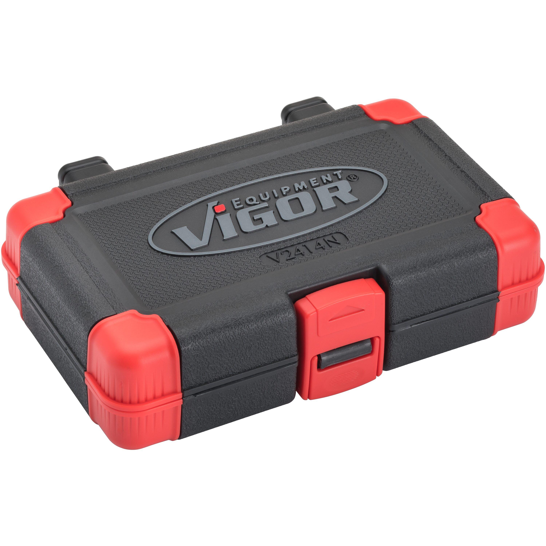 """v1781 Vigor Clés à Douille-Bit-Utilisation-Set Torx 34 pièces 1//4/""""/"""" 6.3 mm Vigor"""