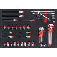 Socket ∙ Offset screwdriver ∙ Ratcheting combination wrench set