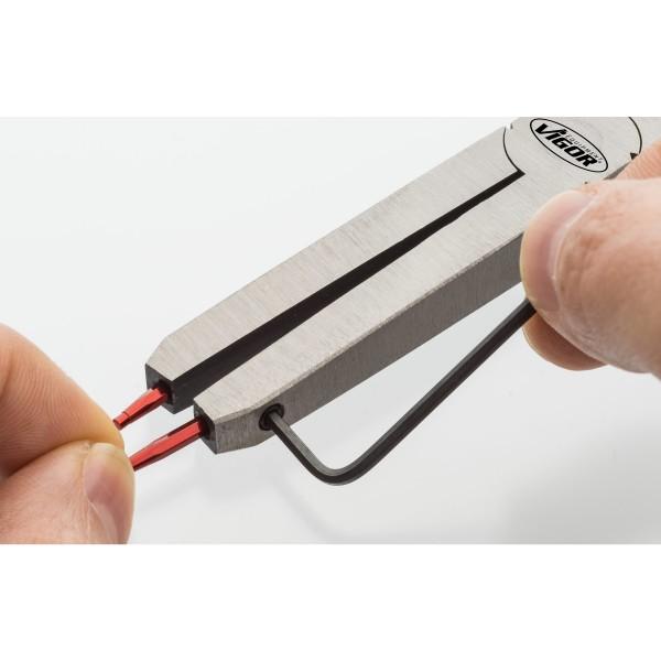 Sicherungsring-Zange mit Doppelgelenk ∙ Innensicherung