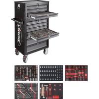 Werkstattwagen SeriesL ∙ mit Sortiment und Aufsatzkoffer