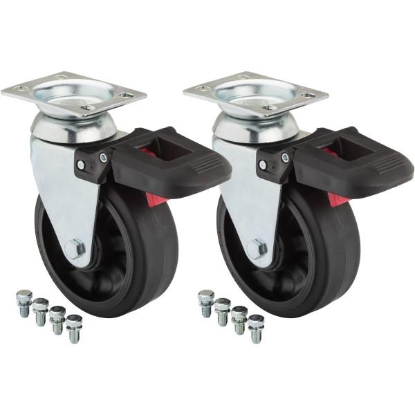 Lenkrolle (Paar) ∙ für Werkstattwagen SeriesXL ∙ SeriesXLSpezial und Werkbänke