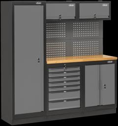 Abbildung: Beispiel VSS Schrankwand-Systeme