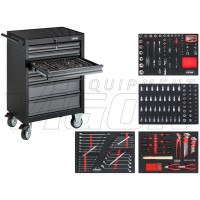 Tool trolley Series M ∙ with assortment